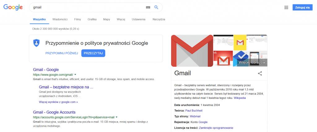 jak założyć pocztę gmail