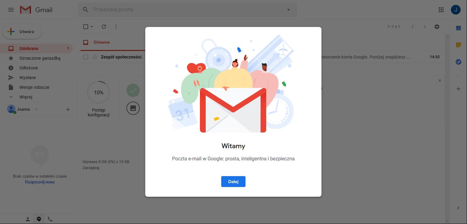 załóż konto gmail