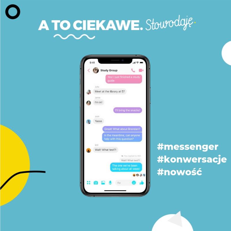 Messenger - odpowiedz na konkretną wiadomość