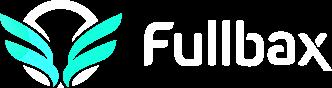 fullbax logo białe