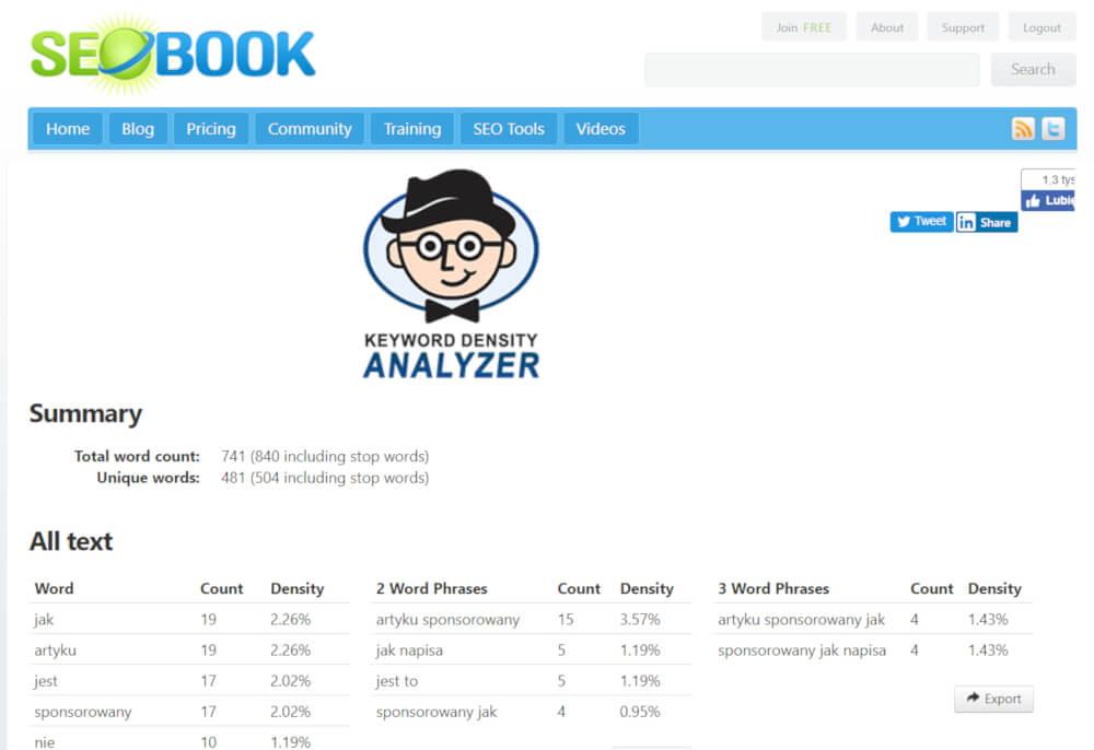 seo book tool